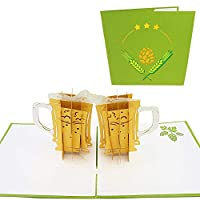 La carte de vœux parfaite pour votre hubby ou vos noix de bière préférées (des buveurs PBR aux cigares). Il vous suffit d'inclure un joli message manuscrit comme « Cheers ! » My love for you is still BREWING! » Vous allez adorer les cartes Pop Life !...