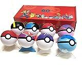 Figuras De Pokemon Juguetes De Pelota Muñecas Figura De Acción Modelo De Juguete para Niños con Caja 8 Al Azar