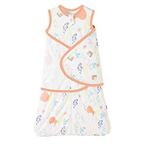 Baby slaapzak zomer/lente, schattig dier cartoon slapen deken zak, nieuw ontwerp mouwloos slaapzak 0,5 tog S(0-5 months) RedForest
