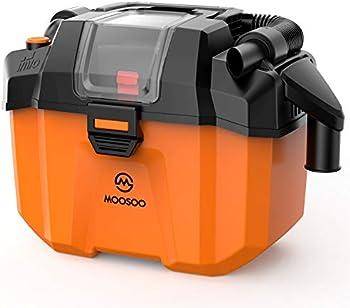 Moosoo L10 Plus Cordless 2-in-1 Wet/Dry Vacuum Cleaner