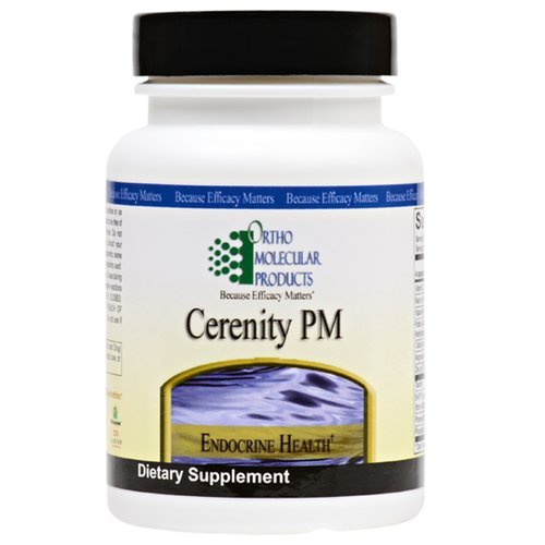 Price comparison product image Ortho Molecular Products Cerenity PM Capsules,  120 Count