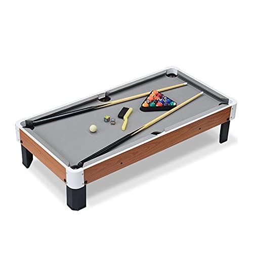 Bilardop Tabletop, Symulacja dla dzieci Zestaw stołów bilardowych, Mini tabletop Stół z kulkami i Polakami, Podwójna interaktywna gra logiczna Gry Arcade Table Gry