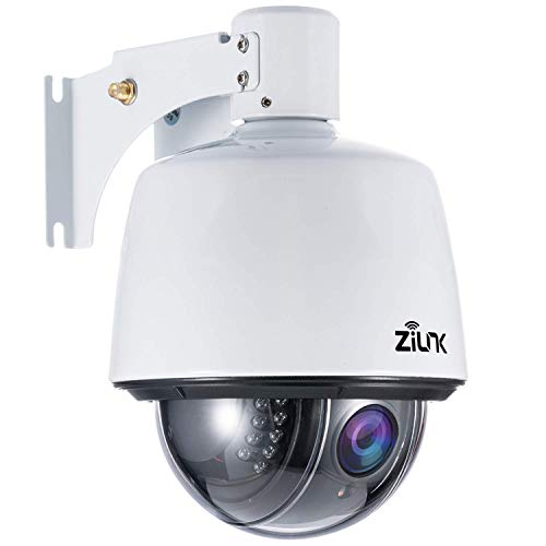 ZILNK 1080P IP Cámara, WiFi PTZ Wireless Outdoor Vigilancia Exterior, 5x Zoom...