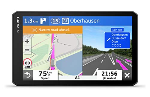 Garmin dēzl LGV700 MT-D Truck Sat Nav with 7-Inch Display and Custom Truck Routing, Black