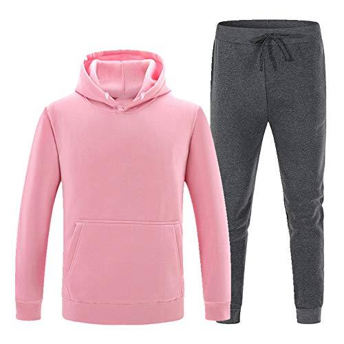 Ropa deportiva para hombre otoño e invierno suéter + pantalones deportivos traje de 2 piezas para hombre