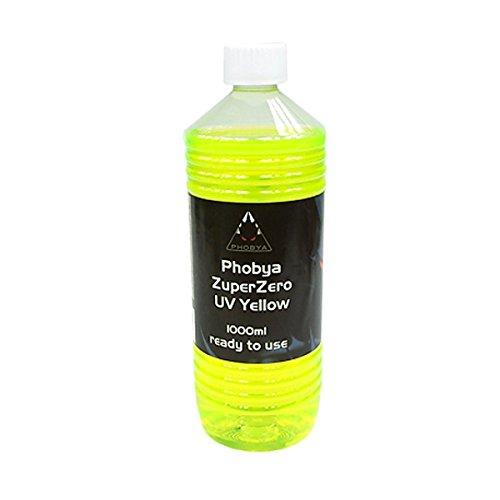 Aquatuning 30104 Phobya ZuperZero UV Yellow, gelb, 1er Pack (1 x 1000 ml)