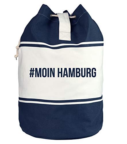 Shirtdepartment - Seesack - Maritime Motiv-Kollektion #Moin Hamburg