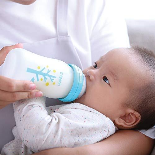 【耐熱ガラス製240ml】ピジョン母乳実感哺乳びんCoatingtree0か月~