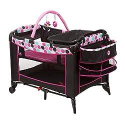 in budget affordable Disney Baby Sweet Wonder Playard, Black Mini Dotty