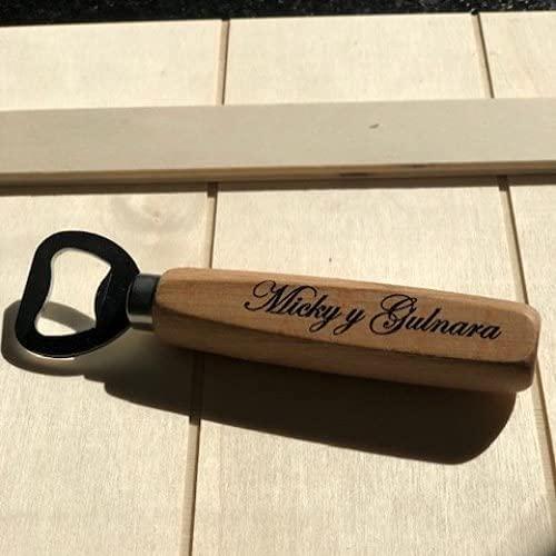 6 Abridores Personalizados, abrebotellas clásico, detalles de boda, regalo original, abrebotellas con nombre, diseño o logotipo, imanes personalizados. Uvimark