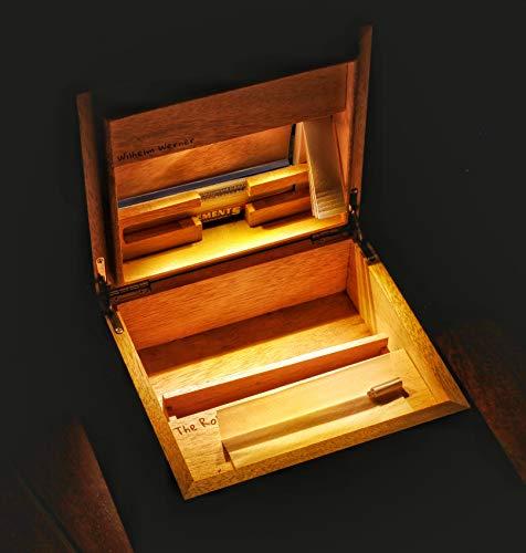 The Rolling Box Yellow 170 Giallo Scatola per Fumatori con Luce
