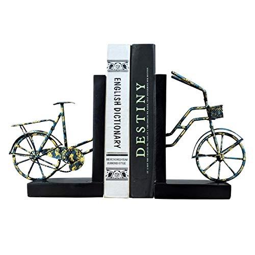 Sujeta Libros Sujetalibros Creative Sookends Retro NOSTALGIC Hierro forjado Bicicleta Titular de la bicicleta Oficina Oficina de Estacionamiento Pesado Librería Decoración Estudio Estudio Adorno Creat