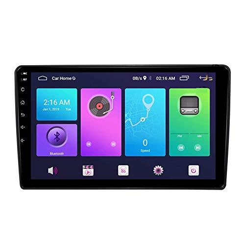 Navegación por satélite Android 10.0 Estéreo para automóvil, compatible con radio Hyundai H1 Starex 2010-2015 Navegación GPS Unidad principal de 9 pulgadas Reproductor multimedia MP5 Receptor de vide