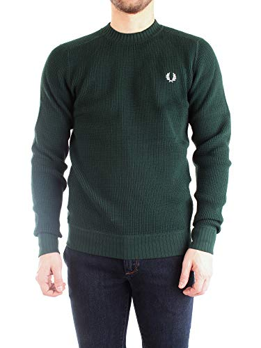 Fred Perry trui ronde hals groen bosk
