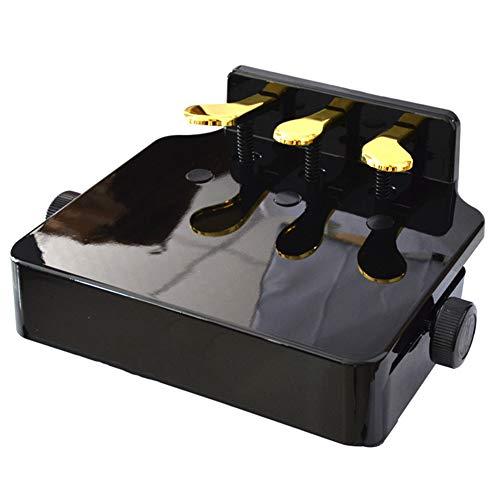 JZWX Lifting Pedal Fine-Tuning Piano Pedalen voor kinderen Extra Booster Nieuwe Piano Pedalen Kinderzitje Booster (Kleur: Zwart)