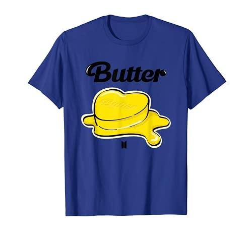 公式 Kpop BTS バター BTS_Butter Tシャツ
