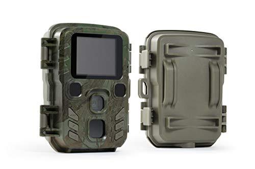 Technaxx Mini Nature Wild Cam TX-117 Wildkamera 12MP 1080P mit Infrarot-Nachtsicht Wasserdicht für Outdoor-Natur, Garten, Hausüberwachung