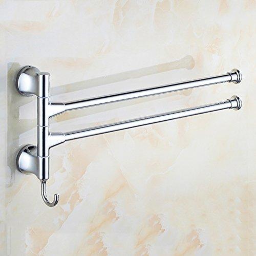 Fenglian - Toallero de acero inoxidable 304 sin perforaciones para actividades al aire libre Toallero para toallas de piscina para accesorios de baño – Selección de varios tamaños, A, 1