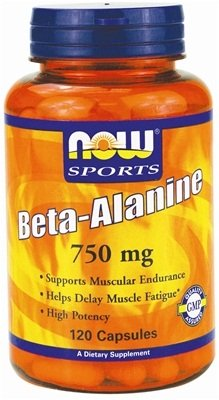 Beta Alanine, 2250mg (Caps) - 120 caps by NOW Foods mm