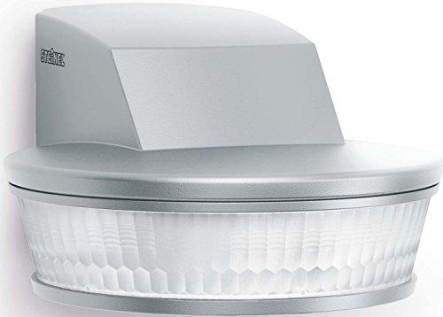 STEINEL sensIQ S KNX Passiver Infrarot-Sensor (PIR) Wand Edelstahl - Bewegungsmelder (Passiver Infrarot-Sensor (PIR), Wand, Edelstahl, IP54, 60-900 s, 2 m)