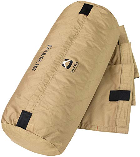 Ultra Fitness Handleless Workout Sandbag - 125 lbs Fillable Heavy Duty Workout Sand Bag for Functional Strength Training, Dynamic Load Exercises, Crossfit, WOD's, General Fitness, and Military Conditi