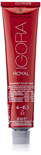 Schwarzkopf IGORA Royal Premium-Haarfarbe 4-63 mittelbraun schoko matt, 1er Pack (1 x 60 g)