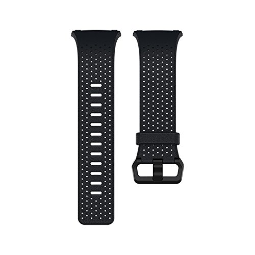 Fitbit Ionic Perforated Leather Accessory Band, Midnight Blue, Large