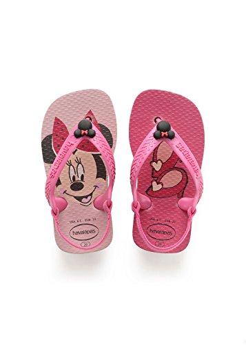 Havaianas Baby Disney Classics II, Unisex Baby Säugling-Unisex Baby, Pink (Pearl Pink), 22 EU