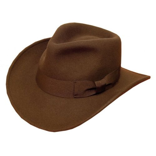Indiana Jones Style Fedora Chapeau E13 56 cm (Marron)