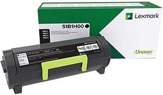 $158 » Lexmark 51B1H00 MS417dn MX417de MS517dn MX517de MS617dn MX617de High Yield Return Program Cartridge Toner