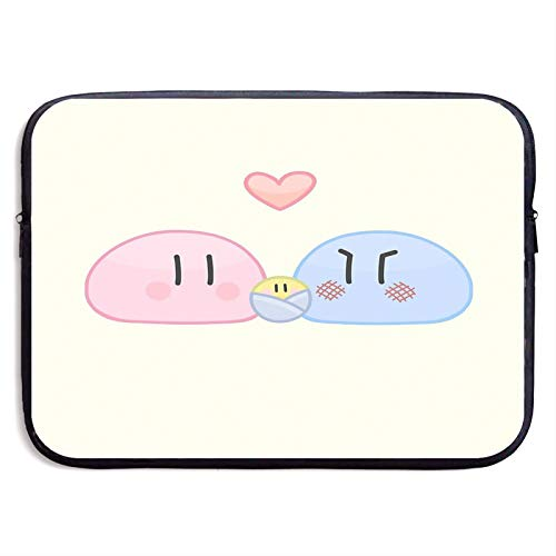 Big Dango Family 3 Laptop Sleeve Case Compatible for 13 15 Inch MacBook Notebook Computer Tablet Protective Bag