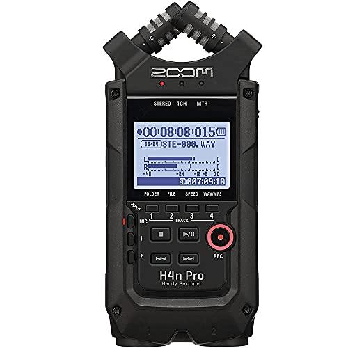 Gravador De Audio Zoom H4N Pro
