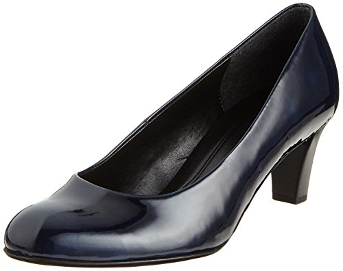 Gabor Shoes Damen Basic Pumps, Blau (Marine), 36 EU