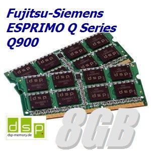 DSP Memory 8GB Speicher/RAM für Fujitsu-Siemens ESPRIMO Q Series Q900