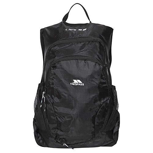 Trespass Ultra 22 Sac à dos léger (22 litres) Taille unique (Noir)