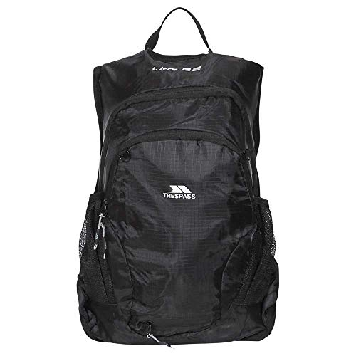 Trespass Ultra 22 Light Rucksack/Backpack (22 Litres) (One Size) (Black)