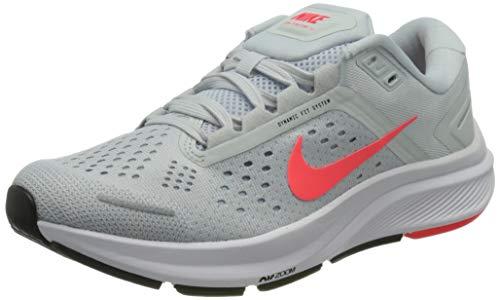 Nike W Air Zoom Structure 23, Zapatillas para Correr Mujer, Pure Platinum Flash Crimson Lt Armory Blue White Black, 36.5 EU