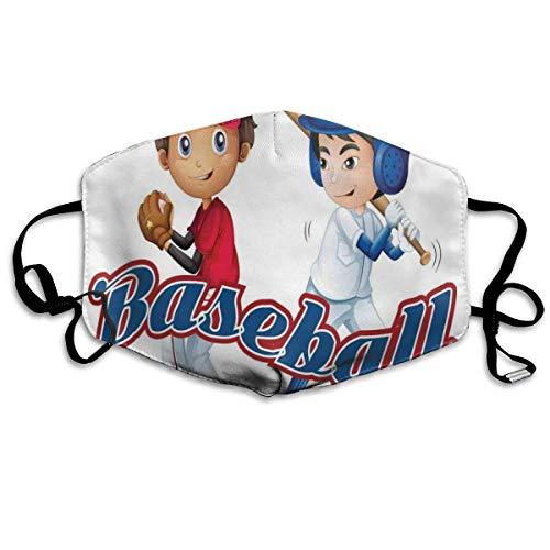 Bequeme Winddichte Maske, Baseballspieler Jungen Pitching Champions Gewinner Olympia-Wettbewerb für Erwachsene