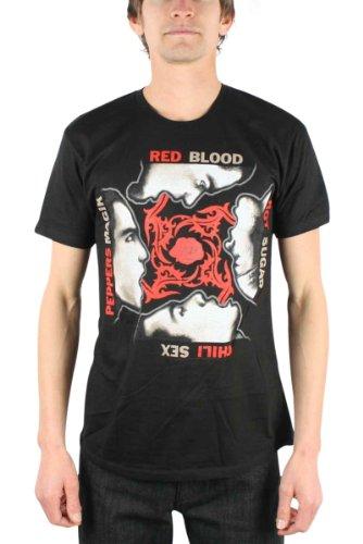 Red Hot Chili Peppers - - Blood Sugar Mex Magik Erwachsene T-Shirt, XX-Large, Black
