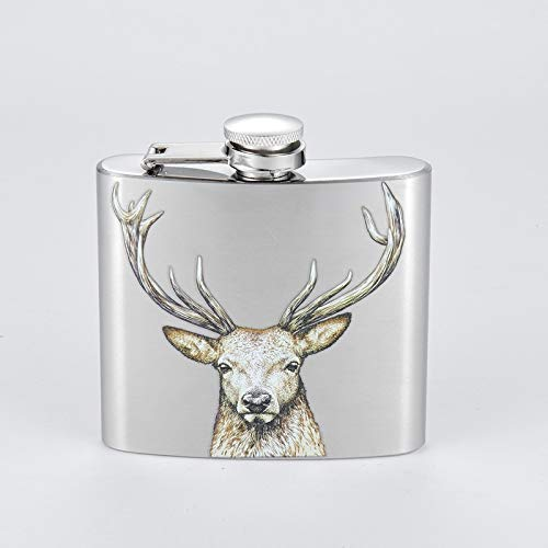 Kolven 5oz RVS heupfles Metal Pocket Flagon Portable Wijn Whiskey Pot Fles Metal Mooie delicate draagbare heupfles.