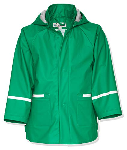Playshoes 408638 Wasserdichte Jacke - Regenjacke Basic, 104 cm, grün (29 Grün)