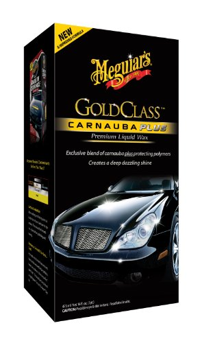 Meguiar 's G7016 Gold Class Carnauba Plus, flüssiges Wachs Premium, 473 ml (16 oz)
