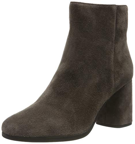 Geox D Calinda High A, Stivaletti Donna, Marrone (Chestnut C6004), 35 EU