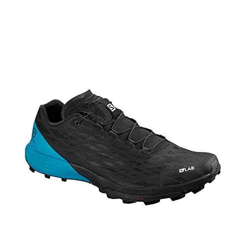 SALOMON Shoes S/Lab XA Amphib, Zapatillas de Running Unisex Adulto, Negro (Black/Black/Transcend Blue)