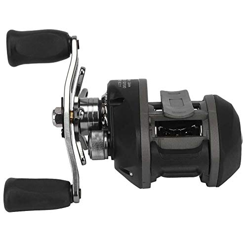T best Spinning Fishing Reel, Black Right/Left Hand Fishing Wheel Magnetic Brake Spool Fishing Reel Accessory Tool (RightHand)