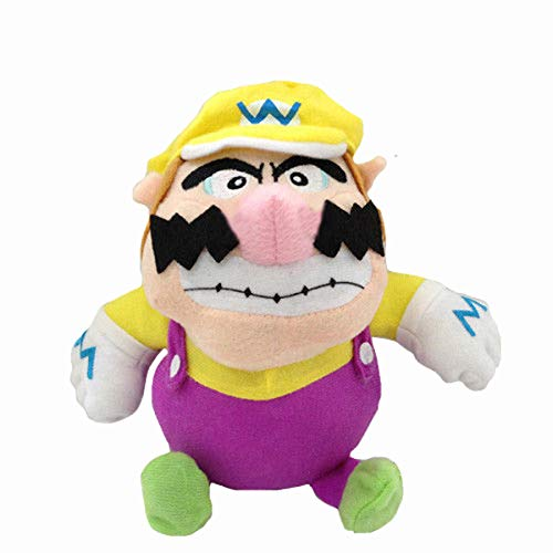 Yijinbo Wario Super Mario Bros Bad Mario - Peluche de