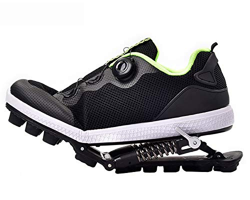 Grist CC Zapatillas Deportivas de Aire para Correr con Amortiguador de muelles,Zapatillas de Deporte para Correr Unisex Gym Fitness Ligero,4