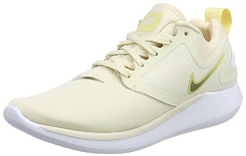 Nike Damen Lunarsolo Laufschuhe, Beige (Lt Cream/MTLC Gold Star/Lemon 202), 39 EU