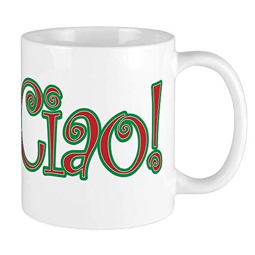 330ML Taza de cerámica Tazas de café ¡Ciao Bella, Ciao Baby, Ciao!