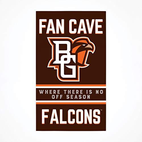 P. Graham Dunn Collegiate Fan Cave Bowling Green State University NCAA 24x14 Birkenholz Palettendekor Schild